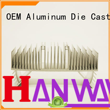 die aluminum die cast led heat sink parts lamp Hanway Brand
