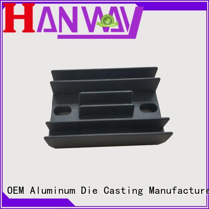 custom heatsink sale casting Hanway Brand aluminum die casting supplier