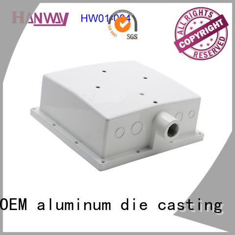 Hanway coating telecommunications parts design for industry