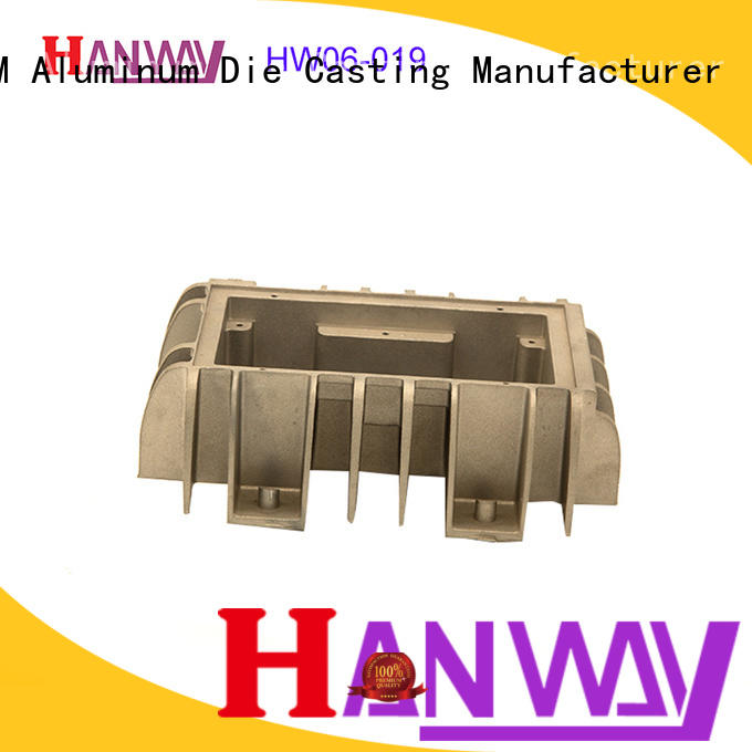 die casting led heat sink aluminum industrial customized for workshop