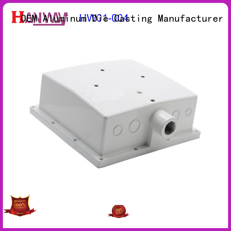 Hanway enclosure telecommunications parts supplies design for manufacturer