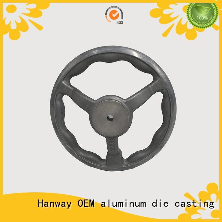 Hanway die casting Industrial parts and components directly sale for manufacturer