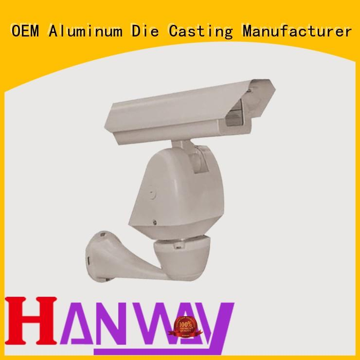 Hanway Brand black aluminum casting ideas cctv supplier