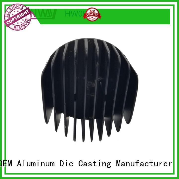 Hanway parts heat sink part for manufacturer