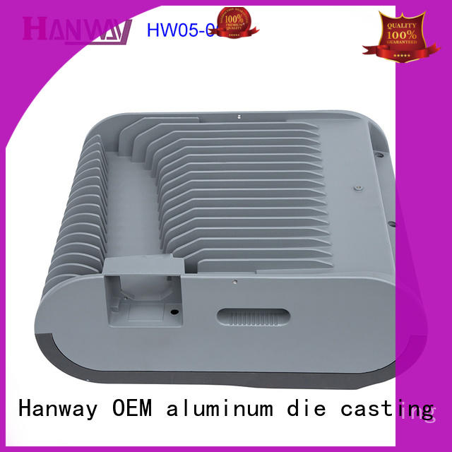 anodized recessed lighting housing alloy part for mining