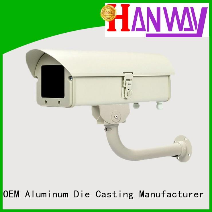 enclosure camera precision aluminum die cast cctv camera housing Hanway