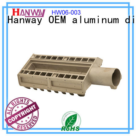Hanway industrial led heat sink design part for plant