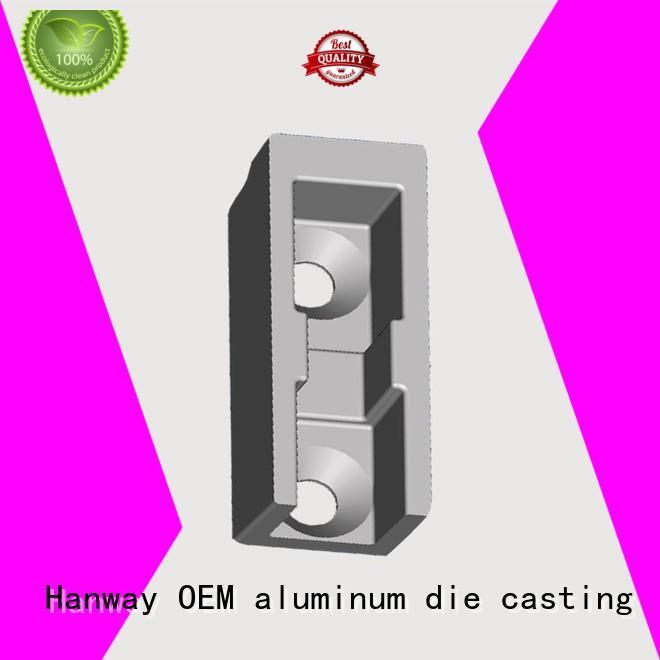Hanway Brand product aluminum die cast train part oem factory