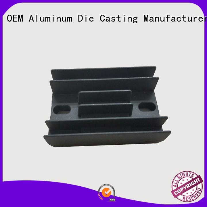 cooler Custom cnc rectifier aluminum die casting supplier Hanway casting