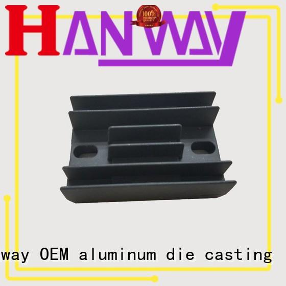 custom heatsink foundry aluminum die casting supplier Hanway Brand