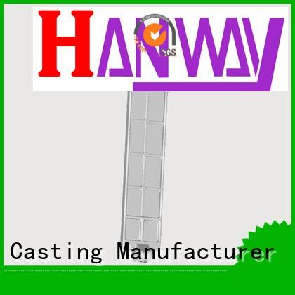 train aluminum die cast train part chinese casting Hanway company