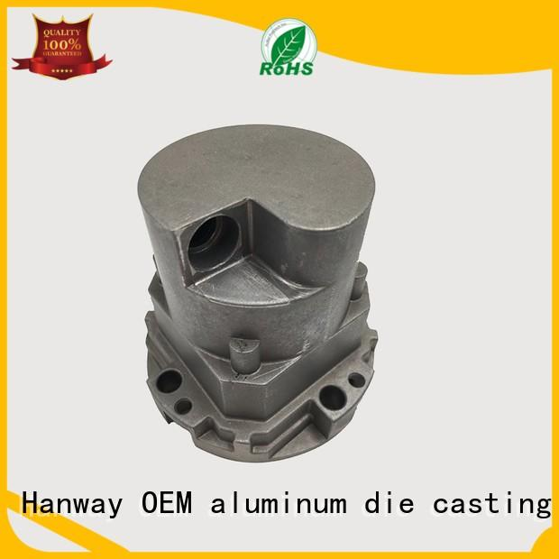 led foudry casting aluminum Hanway Brand LED light heat sink die casting supplier