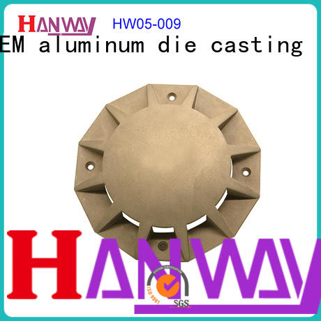 Fitting lamp body aluminum CNC machining die cast light  HW05-009