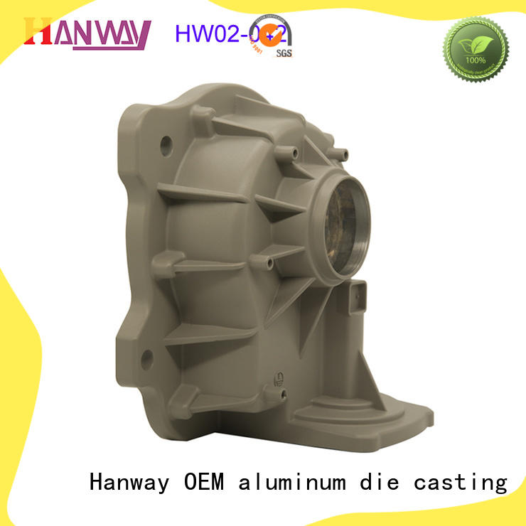 Hanway precisely aluminium pressure casting directly sale for plant