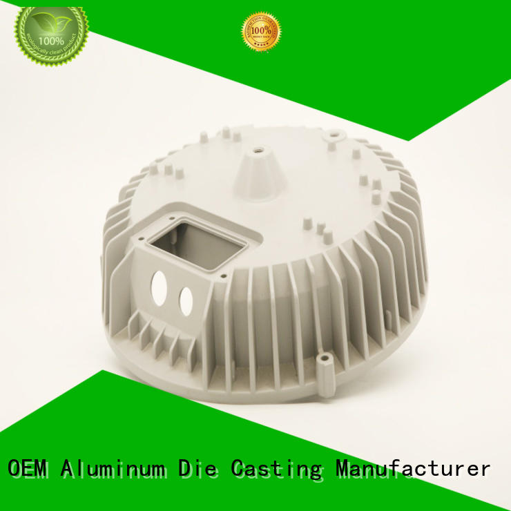 casting oem aluminum die cast led heat sink cnc parts Hanway Brand