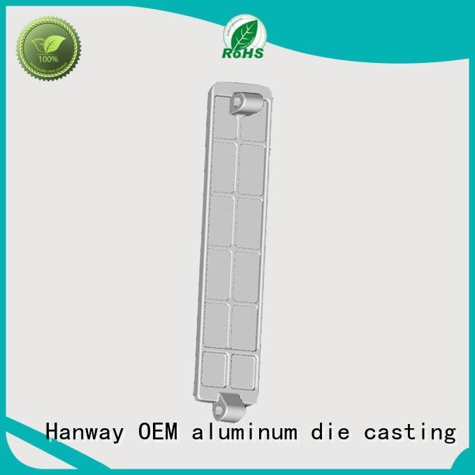 cnc machining Hanway Brand aluminium pressure die casting process