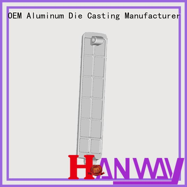 Hanway die casting automotive parts customized for industry