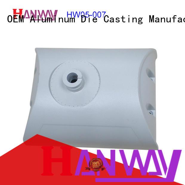 Hanway led housing die-casting aluminium of lighting parts kit for mining