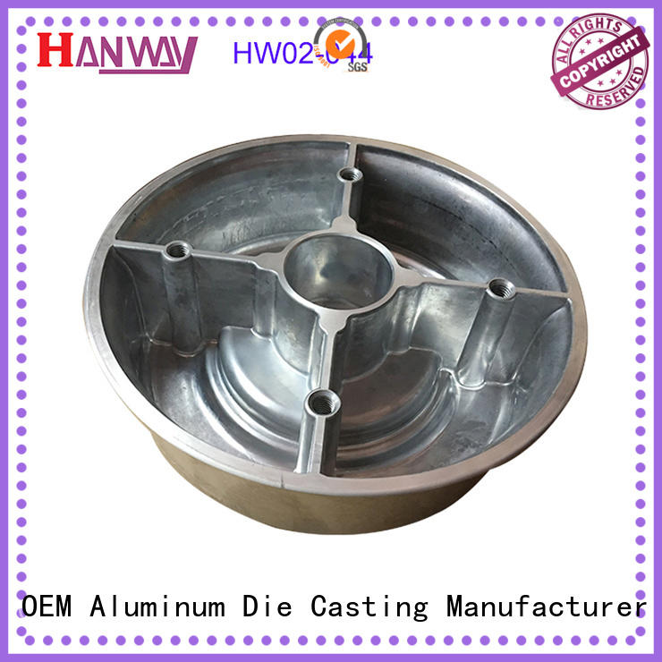 polished metal casting manufacturer diecast from China for workshop