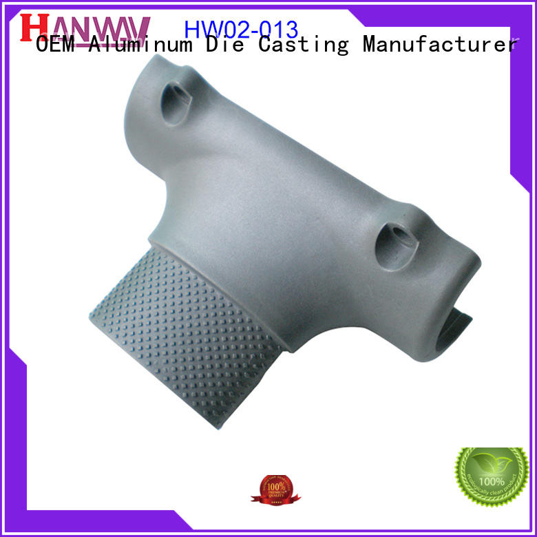 Hanway polished die casting design wholesale for plant