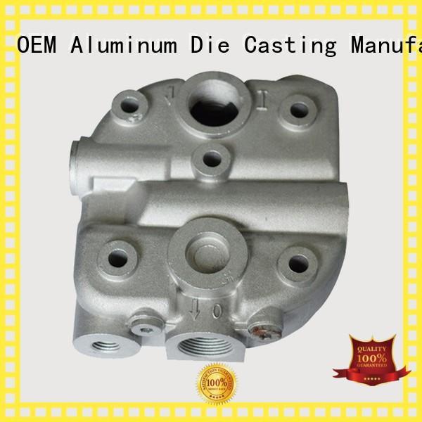 custom auto parts foundry heatsink casting Hanway Brand