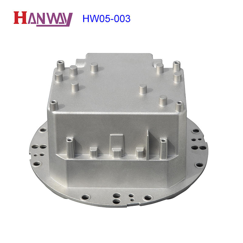 anodized aluminium pressure die casting process wall customized for outdoor-1