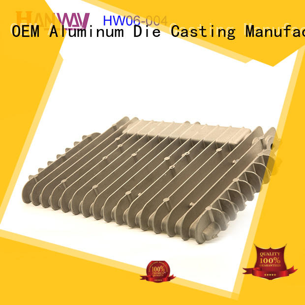 industrial heat sink design powder part for plant