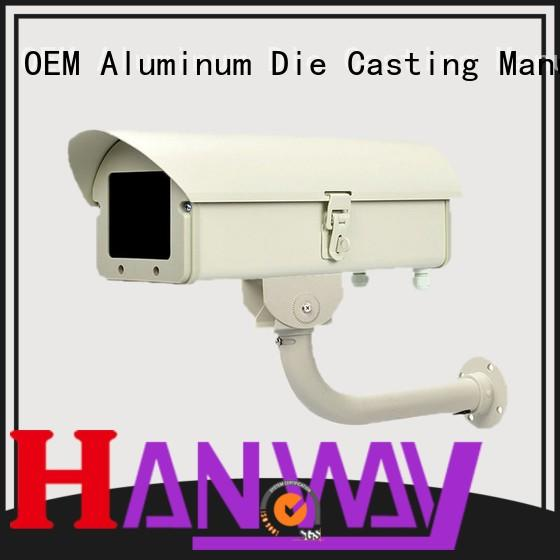 Hanway housing CCTV camera accessories part for outdoor