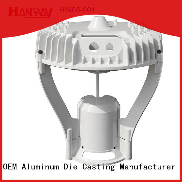 Hanway die light housing kit for lamp