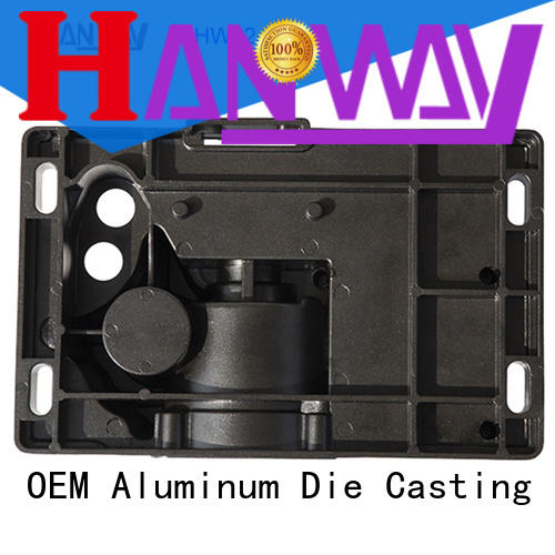 polished aluminum die casting parts hw02015 series for plant