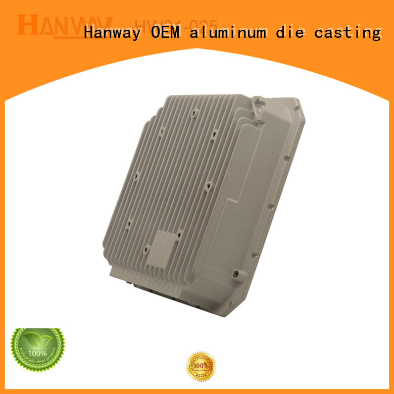Hanway mounted aluminum die casting parts with good price for manufacturer