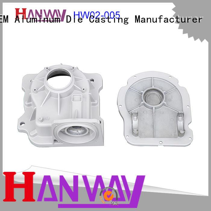 Hanway die casting aluminium pressure casting series for plant