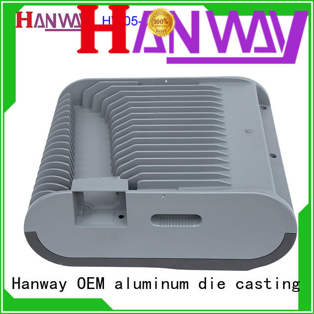 Hanway die die-casting aluminium of lighting parts supplier for light