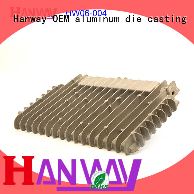 Hanway industrial led heat sink aluminum factory price for industry