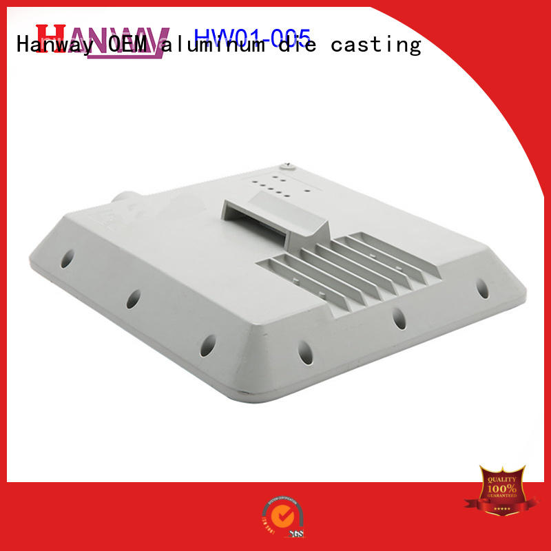 hw01005 aluminium heat sink with good price for industry Hanway