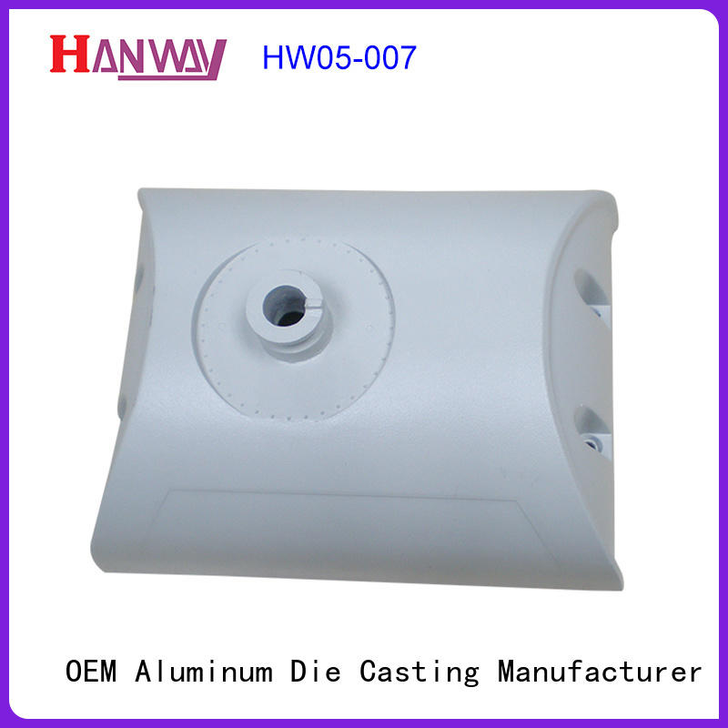 Hanway anodized light housing kit for outdoor