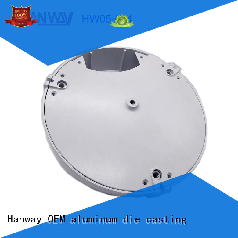 Hanway hw05004 die-casting aluminium of lighting parts factory price for outdoor