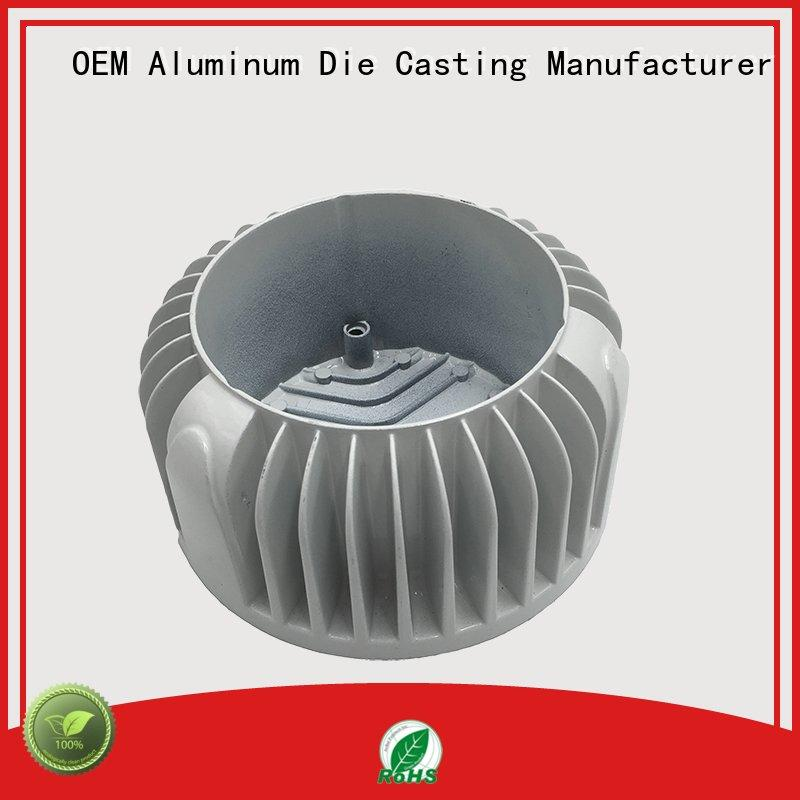 automatic led heat sink aluminum magnesium customized for manufacturer