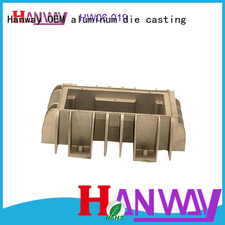 Light enclosure circular aluminum profile led linear heat sink  HW06-019