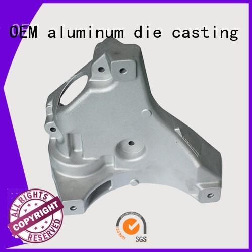aluminum cars auto parts oem machining die casting cars auto parts casting Hanway Brand