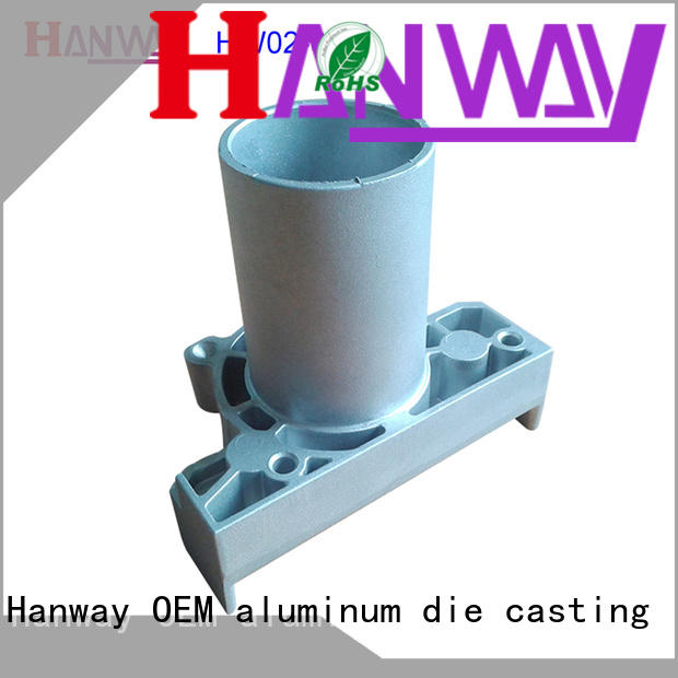 anodizing Industrial parts and components series for manufacturer Hanway