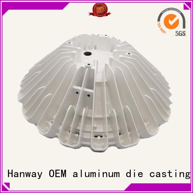 parts led aluminum oem aluminum channel Hanway Brand