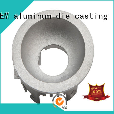 Hanway material die-casting aluminium of lighting parts factory price for light