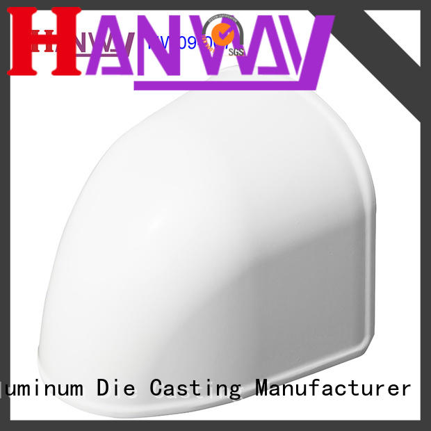 CNC machining security accessories aluminum factory price for lamp