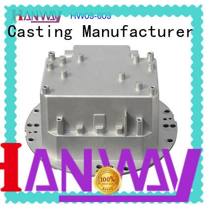led housing die-casting aluminium of lighting parts parts supplier for lamp
