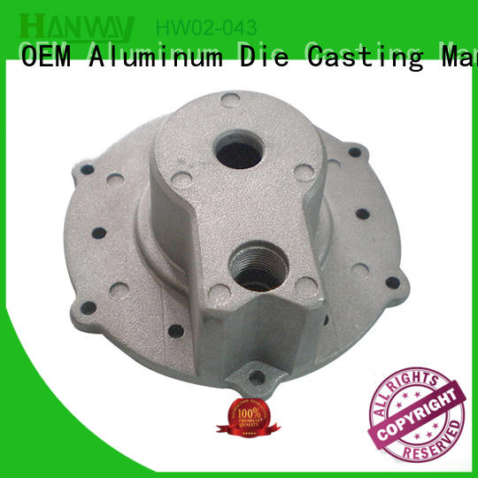 Hanway die casting aluminium die casting auto parts directly sale for manufacturer