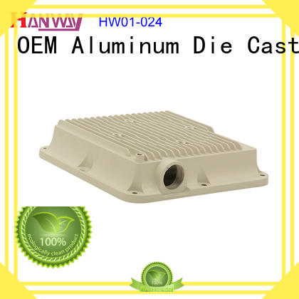Hanway cast wireless telecommunications parts design for antenna system