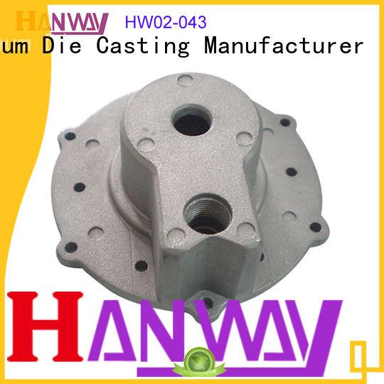 polished aluminum die casting parts hw02040 directly sale for workshop