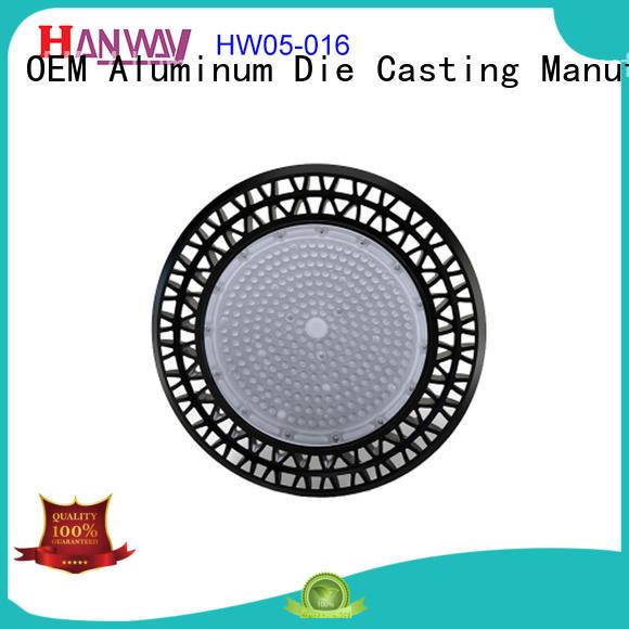 Custom parts lighting fixture metal aluminum die casting housing led HW05-016