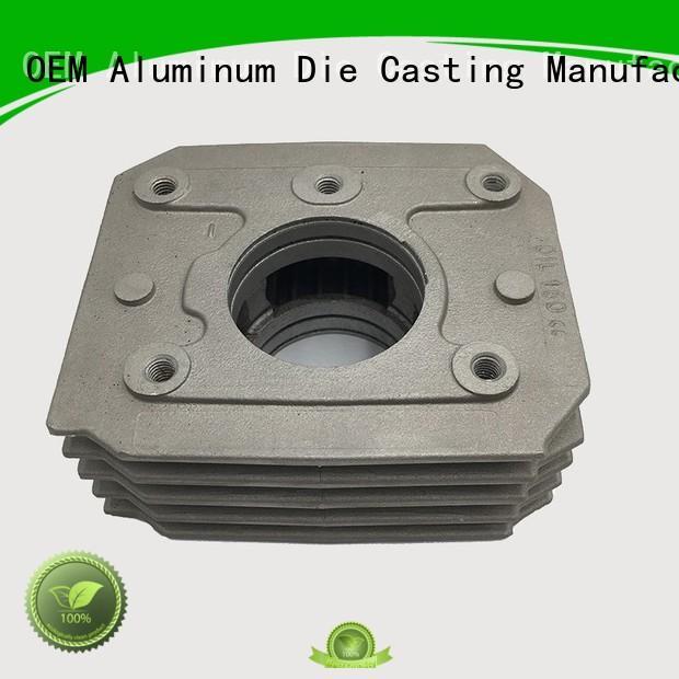 Hanway Brand aluminum custom auto parts foundry supplier